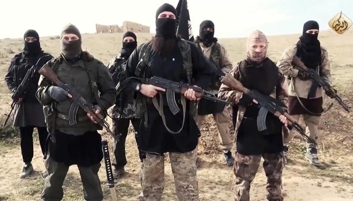 """Berlin ist Spitze: Von sieben aus Deutschland stammenden Kämpfern des """"Islamischen Staates"""" kommt immer einer aus der deutschen Hauptstadt. Foto: Selbstdarstellungs-Video des IS"""