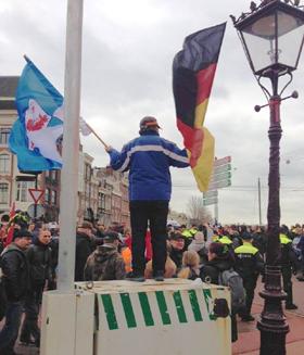 Pegida in Amsterdam