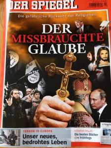 """""""Der Spiegel"""" vom Karsamstag 2016."""