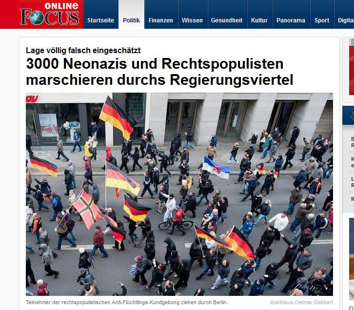 Wer mit Schwarz-Rot-Gold und der Stauffenberg-Fahne demonstriert, gilt im Deutschland des Jahres 2016 als Neonazi.