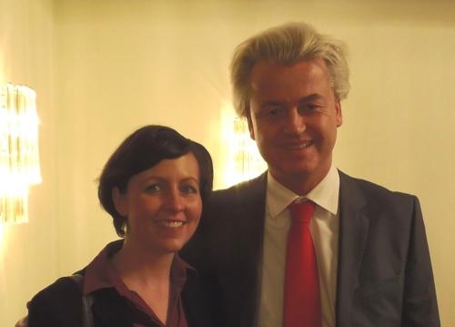 PRO KÖLN Stadträtin Judith Wolter und Geert Wilders