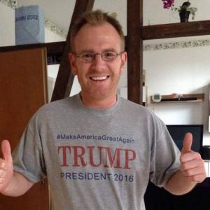 Andre Hüsgen für Donald Trump